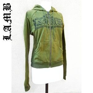 NEW! L.A.M.B. Banner Hoodie sz Large